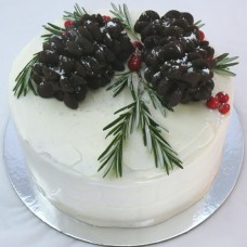 Flower - Chocolate Pinecone Cake (D,V)